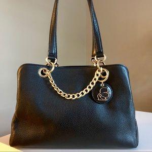 Leather Karl Lagerfeld Shoulder Bag